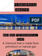 the petrochemical industryedit