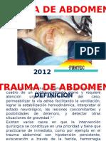 trauma abdomen aguilar.pptx
