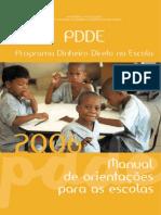 Manual Orientacao Escolas 2006 Pdde