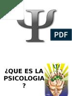 ¿Que Es La Psicologia?