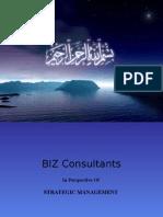 Strategic Management Presentation On BIZ Consultants