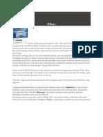 Cara Sederhana Membuat Website Dengan Microsoft FrontPage