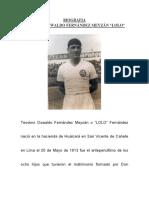 Biografia Teodoro Oswaldo Fernandez Meyzan