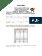 Hamming Code Project