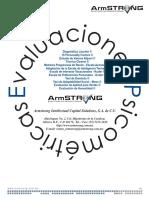 Manual Armstrong Pruebas psicométricas