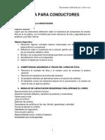 3. Modulo Capacitacion en Etica Para Conductores