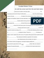 china guided notes  1