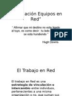 Contenidos Formación de Equipos para el Trabajo en Red