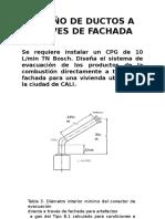 Diseño de Ductos a Traves de Fachada