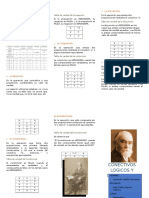 Tripticos de Matematica