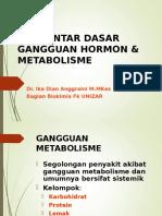 Pengantar Dasar Gangguan Hormon Dan Metabolisme