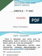 Equações do 1° grau