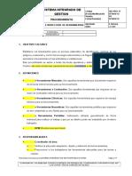 SIG-PRO-17 Uso e Inspección de Herramientas