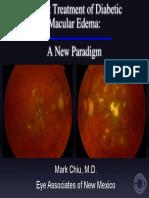 Treatment Diabetic Macular Edema