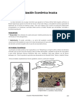 IV Bim - 1er. Año - H.P. - Guía 4 - Org. Económica Incaica