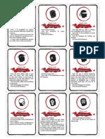 [D&D 4.0] Cartas de Condição - Biblioteca Élfica