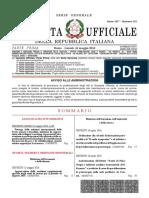 Gazzetta Ufficiale 113 Del 16-05-2016