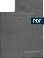 Design of Piping Systems - Mw Kellogg
