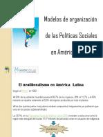 Modelos de Politica Social en America Latina