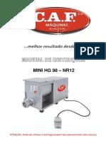 Manual Mini Hg 98 - 231258