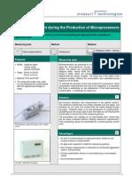 MeasurIT Flexim ADM5207 Application Production of Microprocessors 0809