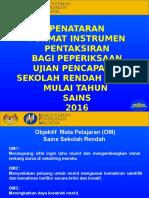 Pp Penataran Format Sains 2016 Tanjung Vista