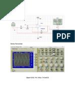 simulacion multisim Circuito Derivador e Integrador
