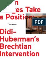 Didi-Huberman Brechtian Intervention.pdf