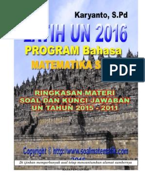Latih Un 2016 Bahasa