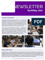 AIT SU Newsletter (April-May 2016)