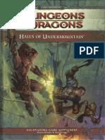 [D&D 4.0] Halls of Undermountain.pdf