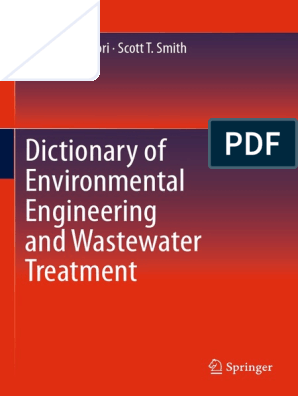 Dictionary Of Environmental Engineering And Wastewater