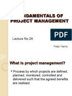 Lecture 2 - PM Overview