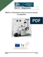 BREG01 - Présentation Et Mise en Service Du Banc de Régulation