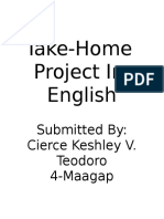 Takehome Project