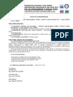 Nota de Fundamentare Sibiu- Sistem Supraveghere Canton Coada Lacului Pisc