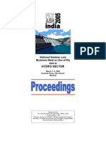 Seminar on Hydro Sector - Proceedings