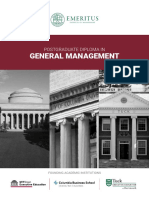 PGDGM Brochure World