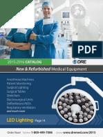 DRE Medical Equipment Catalog