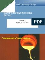 LMS Week 2 Metal Casting