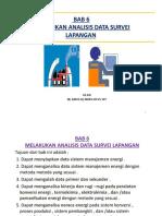 6. BAB 6 Melakukan Analisis Data Survei Lapangan