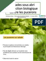 Rencontre Ecophyto Salade 2015