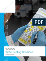 Water Product Catalog