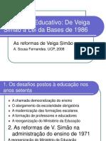 Sistema Educativo de 1971 a 1986