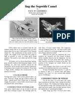 Sopwith Camel - a Free-Flight Model Airplane