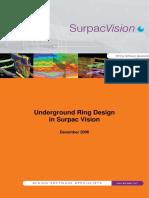 Underground Ring Design