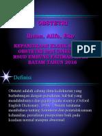 Presentasi Obstetri Alifa Eko Uda