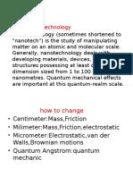 Nanotech Sorular Cevaplar
