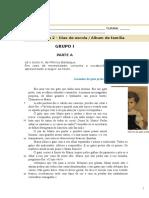 TESTE 1 Portugues 5ºano