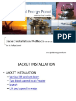 Overview of Jacket Installations